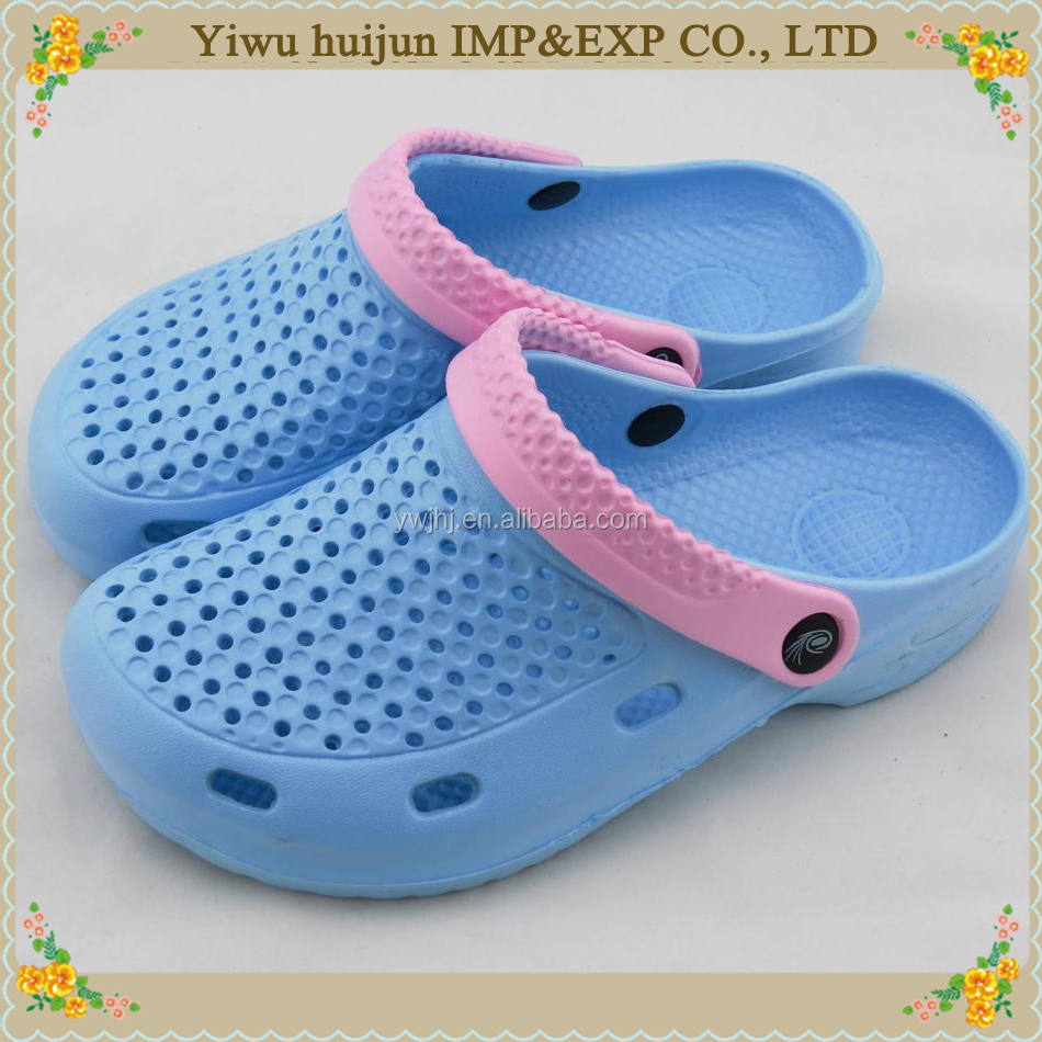 2016 new summer models hole Garden Clog shoes for women EVA beach sandals and slippers for women