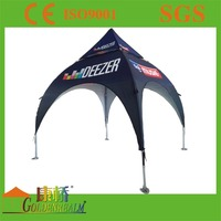 Advertising arch tents, 4 legs custom made spider tents for sale made by golden realm