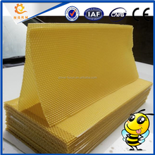 CHINESE CHEAP PRICE plastic beeswax comb foundation sheet/Beekeeping equipment bee wax foundation