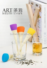 art brush tea infusers