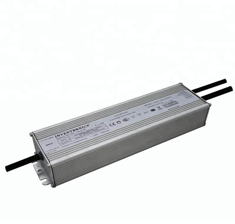 150w Inventronics ip67 waterproof programmable 72v pwm timer 0 -10v dimmable led <strong>driver</strong>