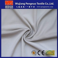 Knitted moisture wicking fabric poly mesh jersey for sportwear lining/shoes