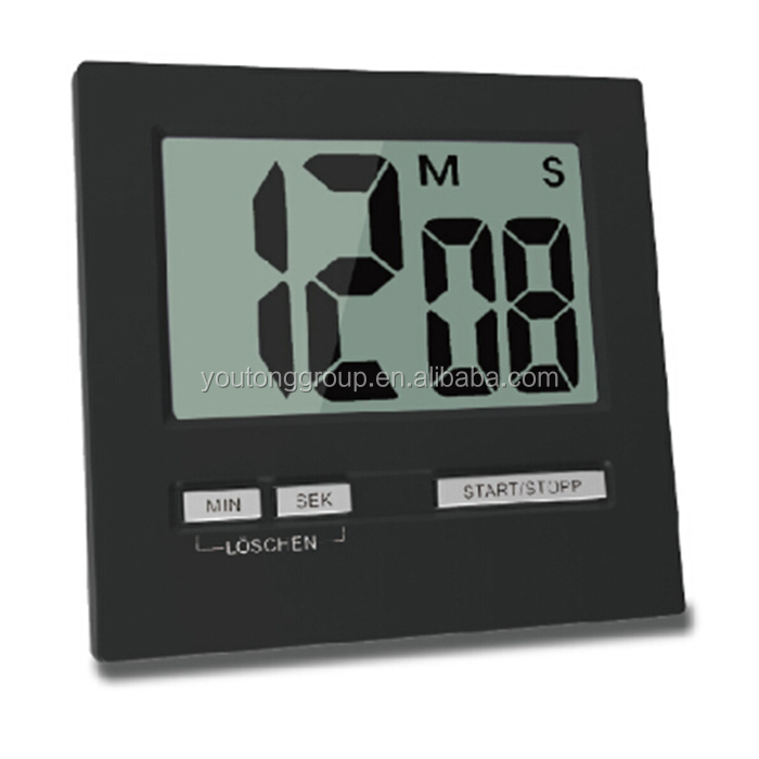 ABS Material Timer,LCD Display Timer For Home Used