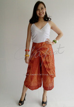 Indian Style 100% Dress Trouser Summer Women Rayon Pants For Women