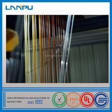 Heat Level 180 / 200/ 220 AWG 18 Gauge Enamelled Aluminum Wire for Dry-Type Transformer