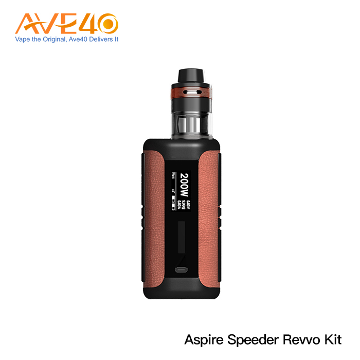100% Original Aspire New Speeder Revvo 200W Vape Kit Ave40 Wholesale Vape Kit