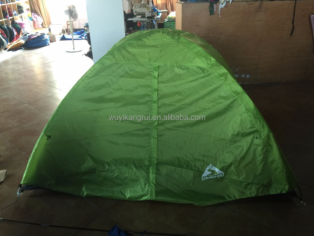 Factory OEM double layers camping tent for 2 person
