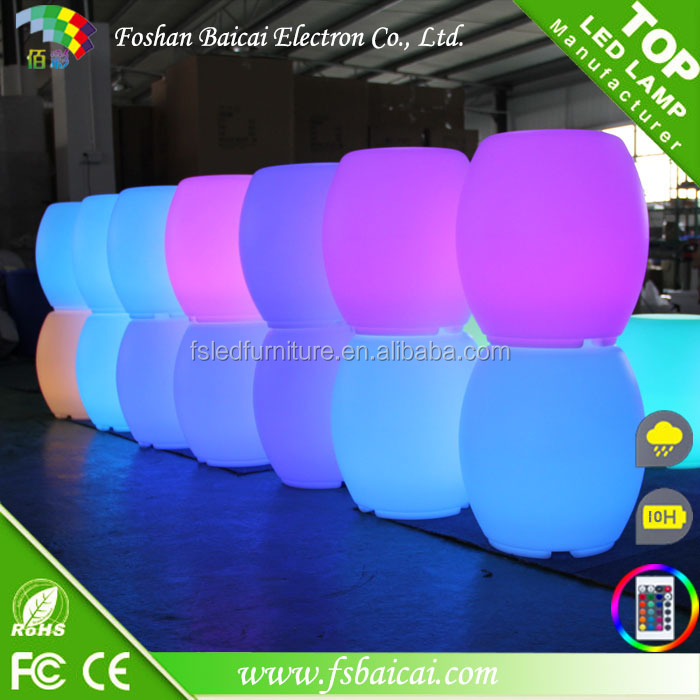 LED Round Shape Chair