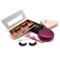 Wholesale Vendor Cheap Price Cruelty Free Eyelashes Faux Mink Silk Private Label 25mm 3D Mink Lashes