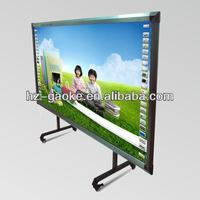 Hot! 82 inch Infared Interactive Whiteboard for education equipment; modula design; intelligent penholder; 4:3; GK-880H/82S