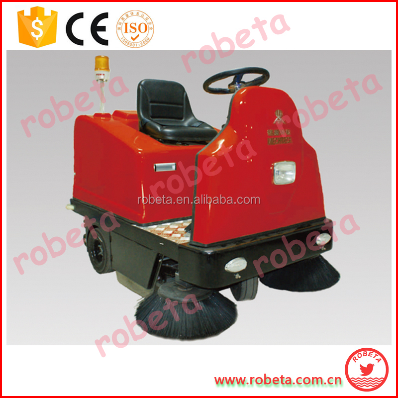 Electric High quality ride sweep/Ride-on road cleaning truck/electric floor sweeper machine for sale