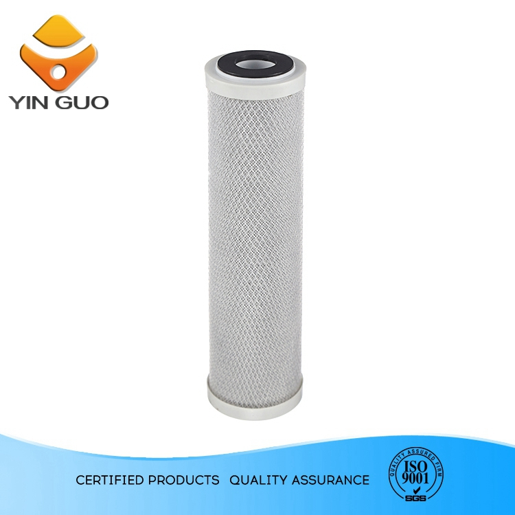 "Pp+Udf Filter Cartridge 10"" clear plastic water filtration housing"