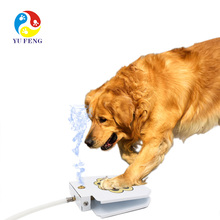 2019 Durable Outdoor Auto Dog Fresh Water Drinking Dispenser Feeder Funny Toy Step on Dog Water Fountain For Water Drink