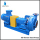 Sand pump for handling abrasive