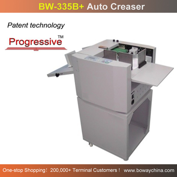 140*150-330*900mm Air feed Progressive Paper Auto Creaser machine
