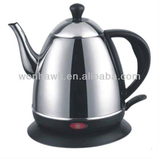1 Liter Stainless Steel Electric Kettle 2013