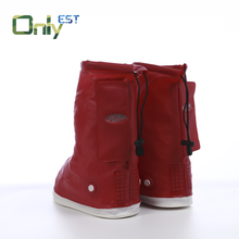 Adult outdoor travel thickened anti-slip wear-resistant rubber boots sleeve high-roller rain boots