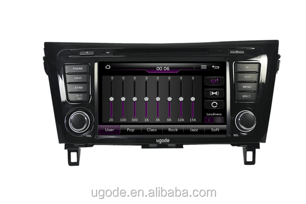 ugode U7 Wince 6.0 before market 8inch Car DVD GPS Multimedia Player for Nissan Qashqai X-trail Rogue