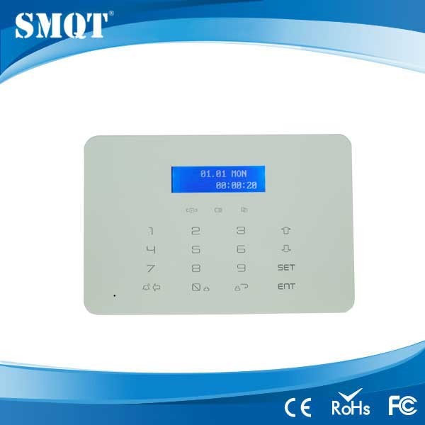 EB-838 LCD Screen Touch Keypad GSM&PSTN wireless Home Alarm Security Alarm System