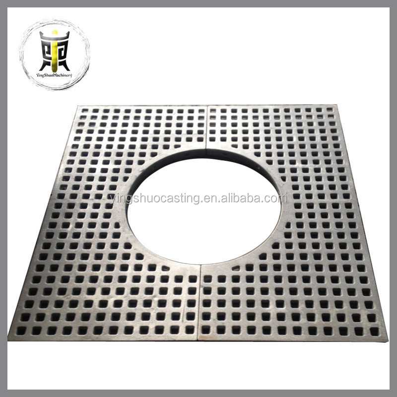 high quality sand casting ductile iron tree grates