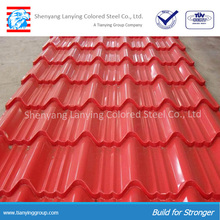 Colorful metal roof tile/metal sheets price pre sheet