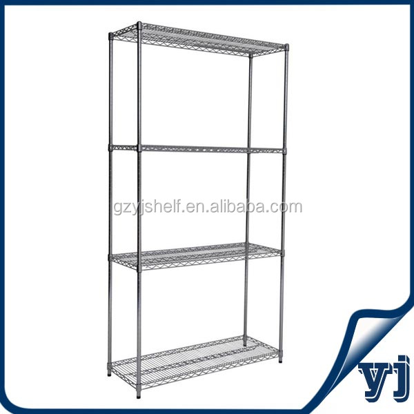 Restaurant Kitchen Shelving wire shelving/restaurant kitchen stainless steel shelves/4 tiers