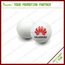 Logo Imprint PU Volleyball Stress Ball , MOQ 100 PCS 0101016 One Year Quality Warranty