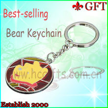2013 New design metal keychain/keychain vners for promotion gifts