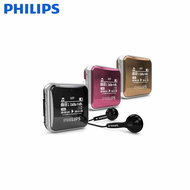 PHILIPS Mp3 Indian Music Download Free Player Use Sports Wireless Headphone Earphone
