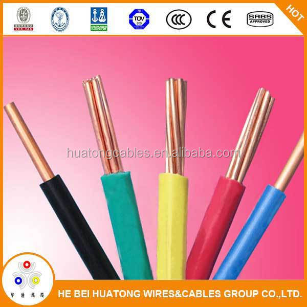PVC insulation electrical wire flat cable 3.5mm 5mm