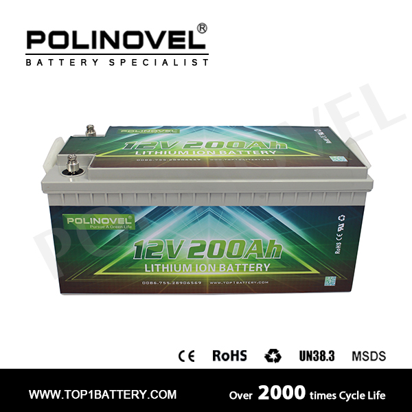 12v 200ah lifepo4 battery pack for sailing yacht
