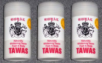 3 Naturally Whitening Tawas Alum Powder Foot and Body Deodorant