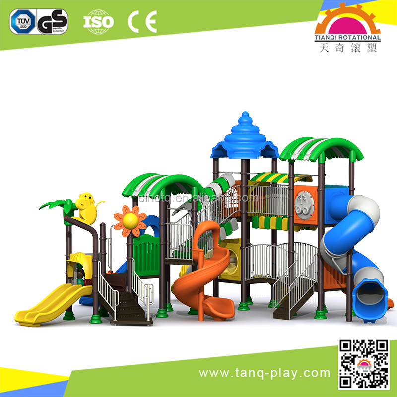 Outdoor Toddler Slide For Playset Kids Special Need Playground Equipment