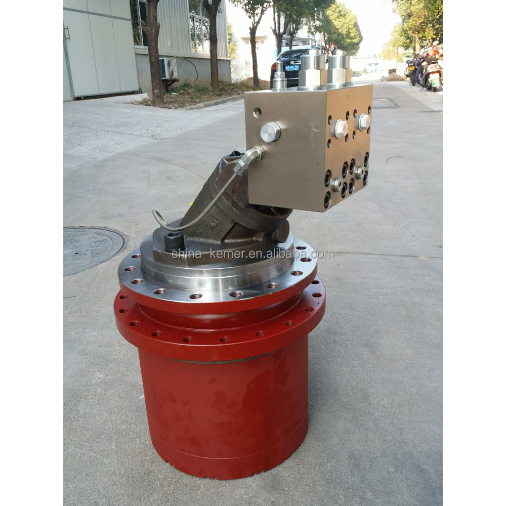 Peka Low speed high torque Hydraulic travel drive motor