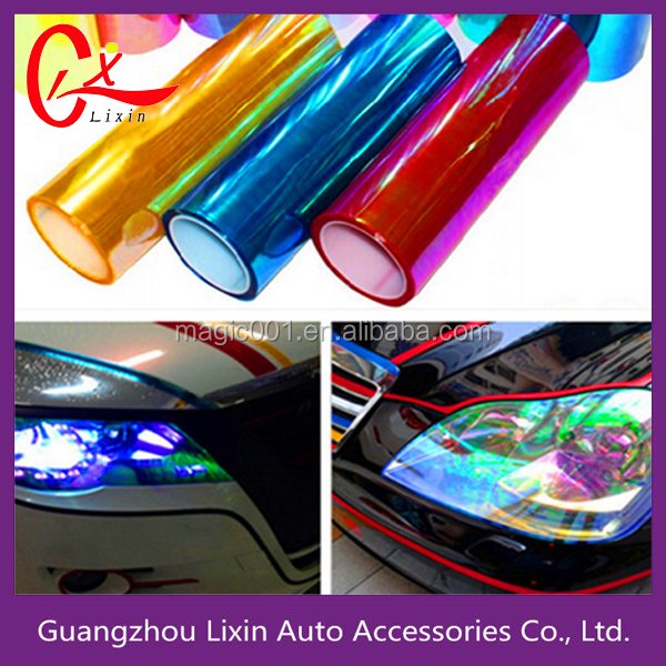 Photochromic Car Tint Film / auto headlight vinyl film