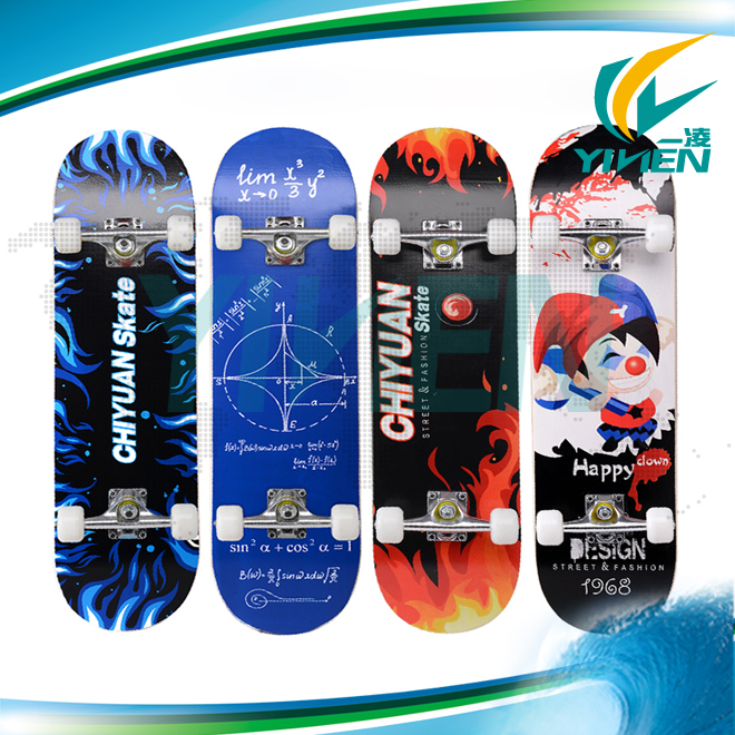 2 wheels skateboard, wave skateboard with ABS