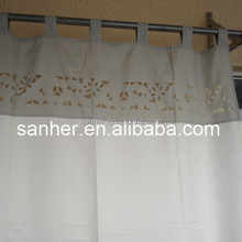100%polyester slub german curtain