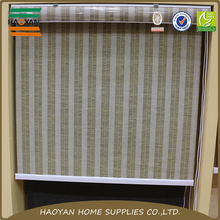 New product horizontal perfect fit jute fabric roller blinds