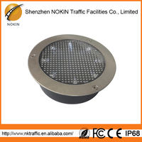High power and long life solar panel led deck light