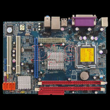 LGA775-DDR2 motherboard G31 Support Intel Core 2 Quad Core 2 Duo P4