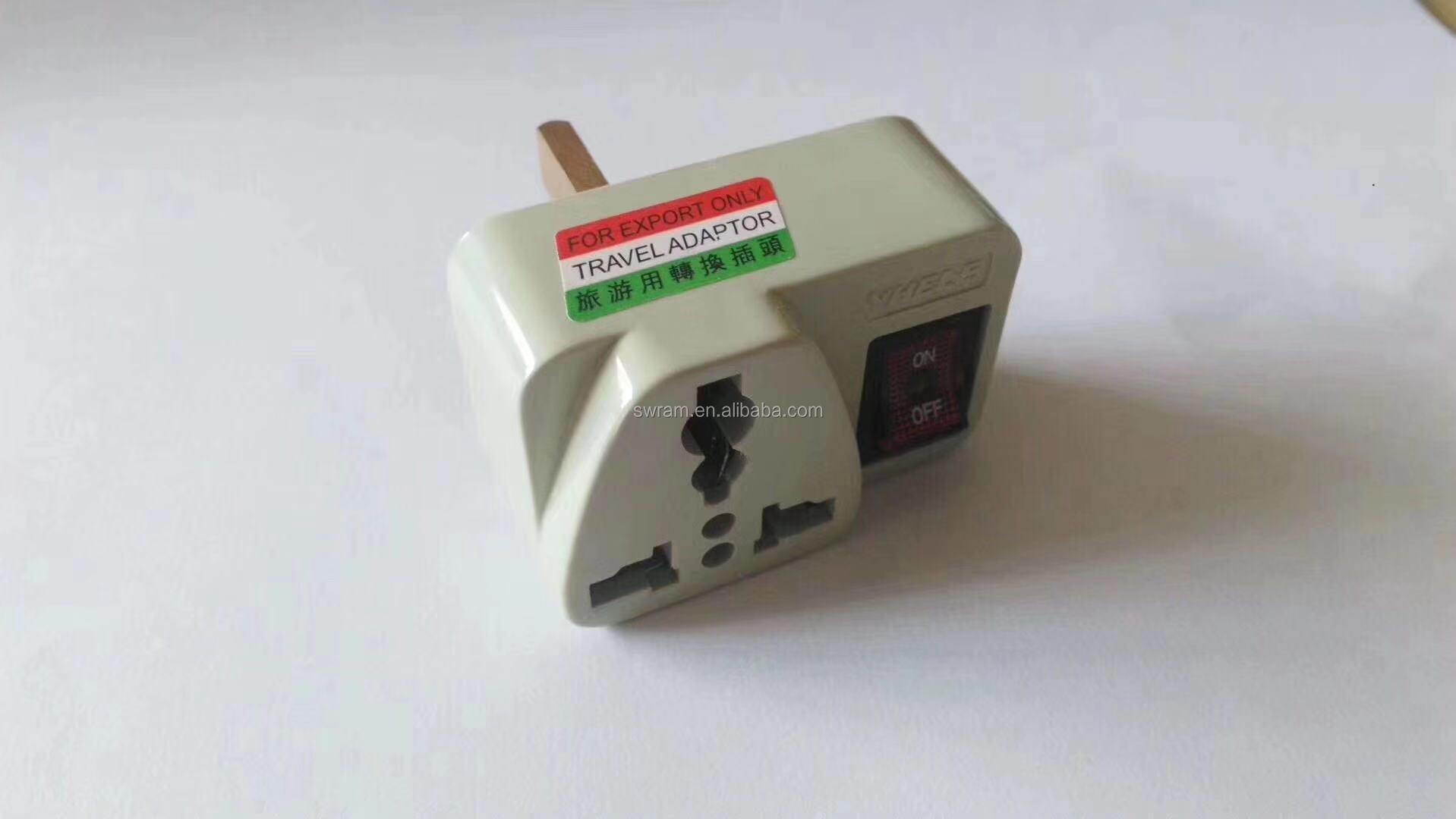 Travel Universal Adapter Electrical Plug For UK EU AU to EU European hot selling