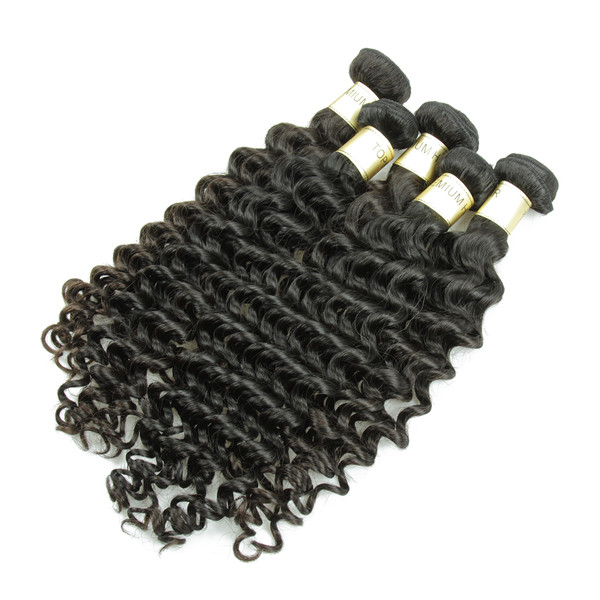 JP Factory Price Deep Wave 100% Virgin Indian Remy Temple Hair