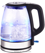 Electric Glass Kettle 1.7 Liter Water Kettle with color changing