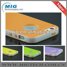 High quality combo rubber matte case for iphone 5, phone cover