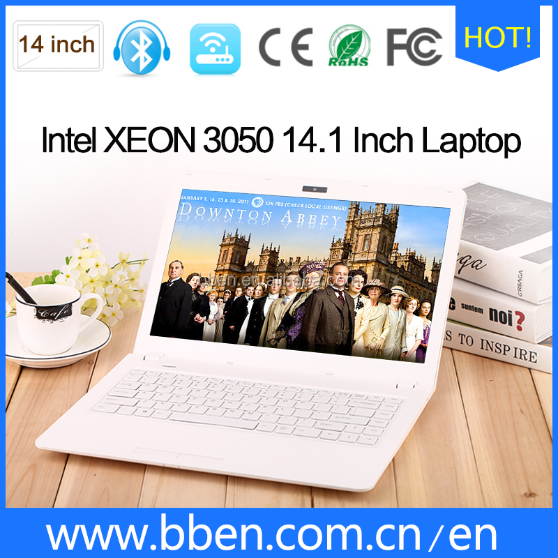 BBEN 14INCH laptop factory price used lapto windows 10 with eMMC 32GB quad core