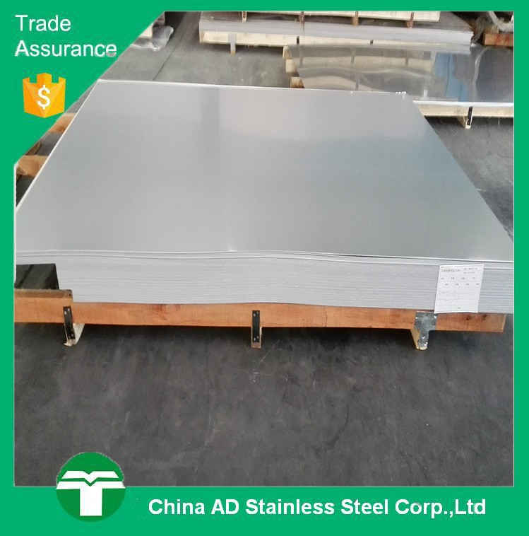 AISI 430 Cold Rolled 2B Finish inox plate stainless steel price per m2
