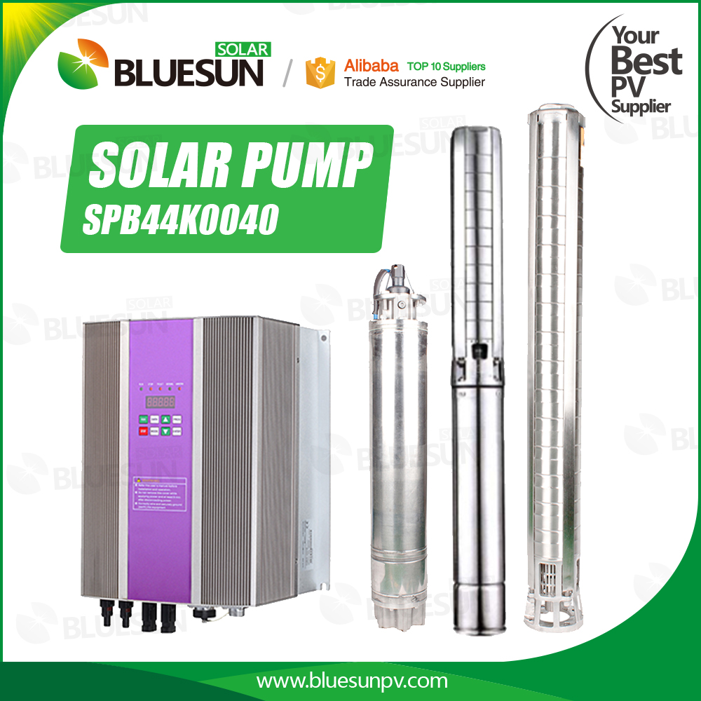 Bluesun Hot Sale 150 Meters Solar Deep Well Water Pump for Agricultural Irrigation