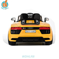 WDHLR8 Chinese Jeep Best Price Licensed Audi R8 Cool Kids Electric Control Remote Car Game