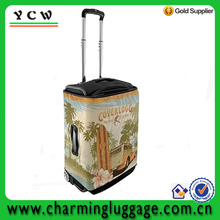 trolley luggage spandex luggage cover