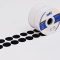 25mm Black Round Self Adhesive Hook Loop Dots